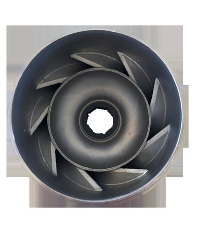 Componentes en fundición de precisión de acero inoxidable