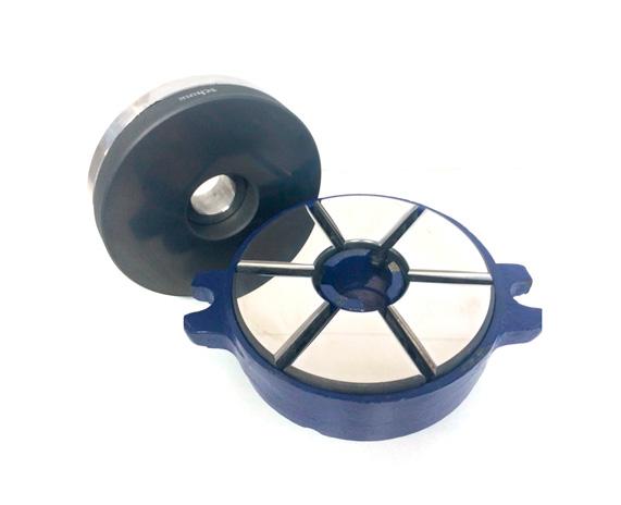 Cojinete axial y disco de fricción - Imagen ampliada